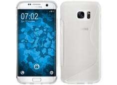 Coque Samsung Galaxy S7 Edge Silicone Grip-Translucide