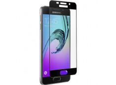 Film Protecteur Samsung Galaxy A3 2016 Qdos en Verre trempé (Full écran)-Noir