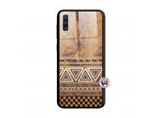 Coque Samsung Galaxy A70 Aztec Deco Verre Trempe