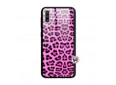 Coque Samsung Galaxy A70 Pink Leopard Verre Trempe