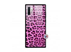 Coque Samsung Galaxy Note 10 Plus Pink Leopard Verre Trempe