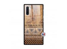 Coque Samsung Galaxy Note 10 Aztec Deco Verre Trempe