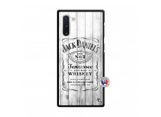 Coque Samsung Galaxy Note 10 White Old Jack Verre Trempe