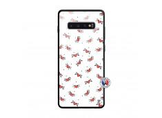 Coque Samsung Galaxy S10 Plus Cartoon Heart Verre Trempe