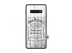Coque Samsung Galaxy S10 Plus White Old Jack Verre Trempe