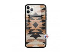 Coque iPhone 11 PRO MAX Aztec Verre Trempe