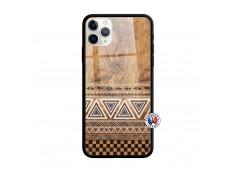 Coque iPhone 11 PRO MAX Aztec Deco Verre Trempe