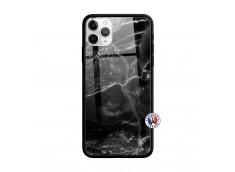 Coque iPhone 11 PRO MAX Black Marble Verre Trempe