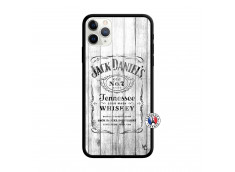 Coque iPhone 11 PRO MAX White Old Jack Verre Trempe