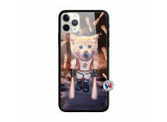 Coque iPhone 11 PRO Cat Nasa Verre Trempe