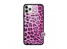 Coque iPhone 11 PRO Pink Leopard Style Verre Trempe