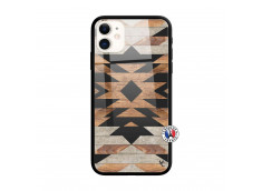 Coque iPhone 11 Aztec Verre Trempe