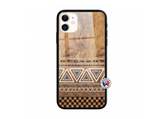 Coque iPhone 11 Aztec Deco Verre Trempe