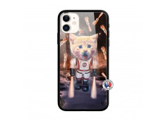 Coque iPhone 11 Cat Nasa Verre Trempe
