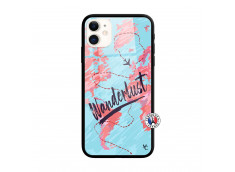 Coque iPhone 11 Wanderlust Verre Trempe