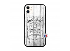 Coque iPhone 11 White Old Jack Verre Trempe