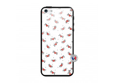 Coque iPhone 5/5S/SE Cartoon Heart Verre Trempe