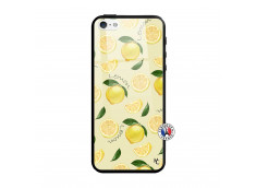 Coque iPhone 5/5S/SE Sorbet Citron Verre Trempe