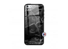 Coque iPhone 5/5S/SE Black Marble Verre Trempe