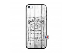 Coque iPhone 5/5S/SE White Old Jack Verre Trempe