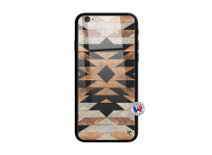 Coque iPhone 6 Plus/6s Plus Aztec Verre Trempe