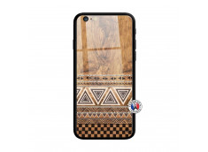 Coque iPhone 6 Plus/6s Plus Aztec Deco Verre Trempe