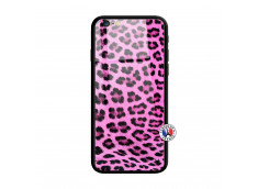 Coque iPhone 6 Plus/6s Plus Pink Leopard Style Verre Trempe