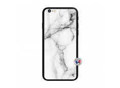 Coque iPhone 6 Plus/6s Plus White Marble Verre Trempe