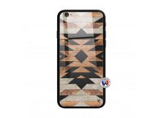 Coque iPhone 6/6S Aztec Verre Trempe