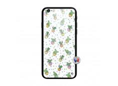 Coque iPhone 6/6S Le Monde Entier est un Cactus Verre Trempe
