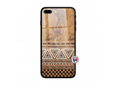 Coque iPhone 7 Plus/8 Plus Aztec Deco Verre Trempe