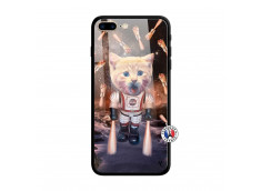 Coque iPhone 7 Plus/8 Plus Cat Nasa Verre Trempe