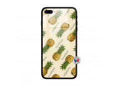 Coque iPhone 7 Plus/8 Plus Sorbet Ananas Verre