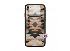 Coque iPhone 7/8 Aztec Verre Trempe