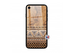 Coque iPhone 7/8 Aztec Deco Verre Trempe