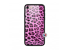 Coque iPhone 7/8 Pink Leopard Style Verre Trempe