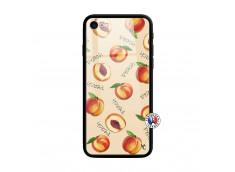 Coque iPhone 7/8 Sorbet Pêche Verre