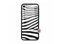 Coque iPhone 7/8 Zebre Style Verre Trempe