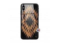 Coque iPhone X/XS Aztec One Motiv Verre Trempe