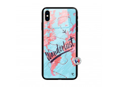 Coque iPhone X/XS Wanderlust Verre Trempe