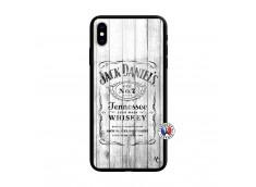 Coque iPhone X/XS White Old Jack Verre Trempe