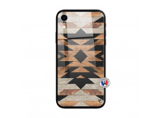 Coque iPhone XR Aztec Verre Trempe
