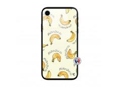 Coque iPhone XR Sorbet Banana Split Verre