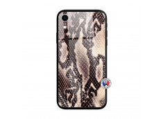 Coque iPhone XR Snake Style Verre Trempe