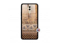 Coque Huawei Mate 20 Lite Aztec Deco Verre Trempe