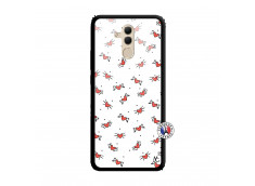Coque Huawei Mate 20 Lite Cartoon Heart Verre Trempe