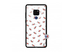 Coque Huawei Mate 20 Cartoon Heart Verre Trempe