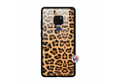 Coque Huawei Mate 20 Leopard Style Verre Trempe