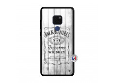 Coque Huawei Mate 20 White Old Jack Verre Trempe