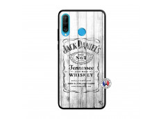 Coque Huawei P30 Lite White Old Jack Verre Trempe